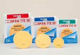 禁煙補助薬ニコチネルTTSイメージ写真